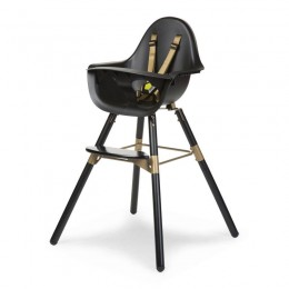 Стульчик ChildHome Evolu 2 Black/Gold