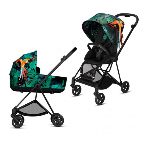 Коляска 2 в 1 Cybex Mios Birds of Paradise 2019