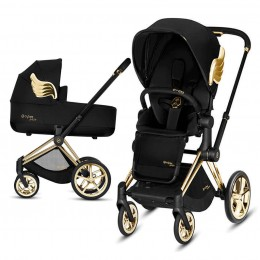 Коляска 2 в 1 Cybex Priam by Jeremy Scott Black