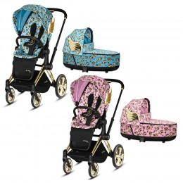 Коляска 2 в 1 Cybex Priam by Jeremy Scott Cherubs 2020