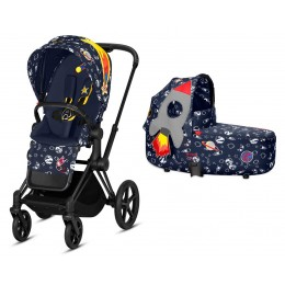 Коляска 2 в 1 Cybex Priam Space Rocket 2019