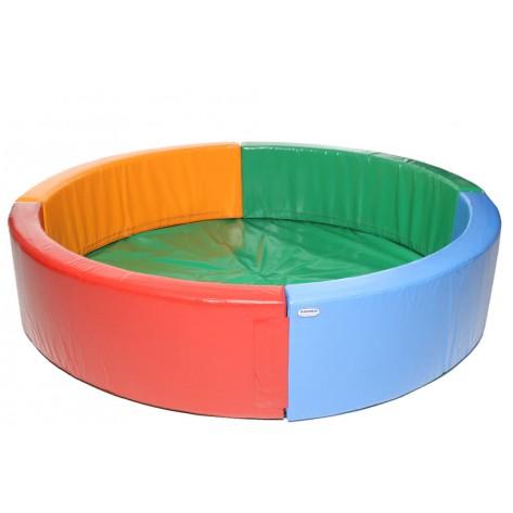"""Сухой бассейн KidiGo """"Круг"""" 2,5 м"""
